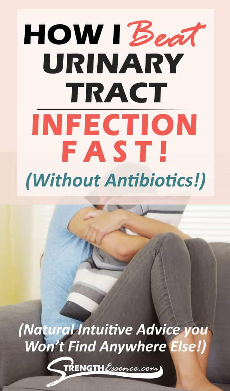 How I Beat Urinary Tract Infection UTI (Without Antibiotics