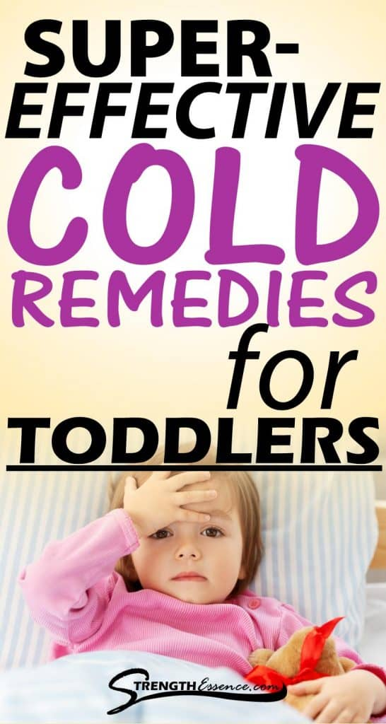 natural cold remedies for toddlers