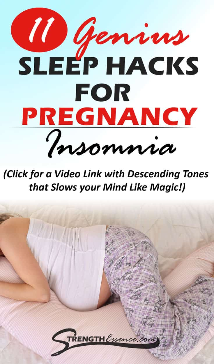 Pregnant and can't sleep? Get more sleep while pregnant with these 11 tried and true sleep remedies for pregnancy WORK! Even in the middle of the night! #pregnancy #pregnant #preggers #pregnantlife #pregnancytipssleeping #naturalremedies #naturalremedy #healthypregnancy #healthypregnancyadvice #healthypregnancytips
