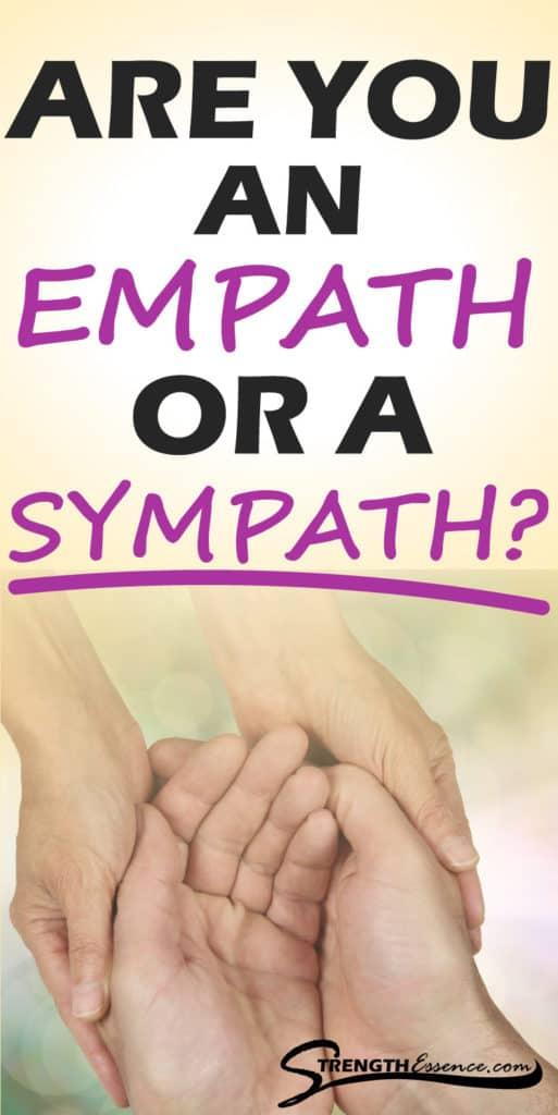 empath vs sympath