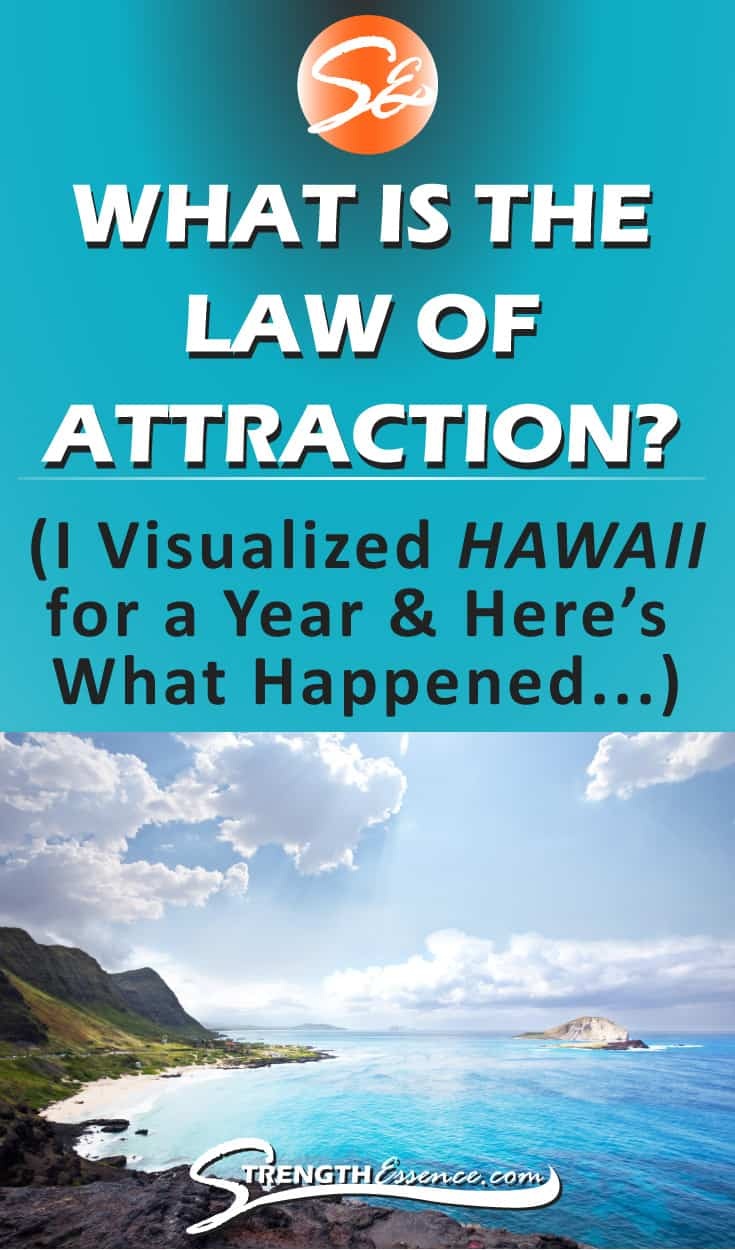 What is the Law of Attraction? And does it REALLY work? The Law of Attraction and definition in simple steps. I've been practicing the Law of Attraction for awhile and visualized a trip to HAWAII for a year! Here are my results, plus everything I've figured out about how to use the Law of Attraction to manifest more money, free trips, etc. etc... #thelawofattraction #lawofattraction #LOA #manifestation #manifesting #manifestingmoney #manifestingdesires #manifestingabundance #manifest