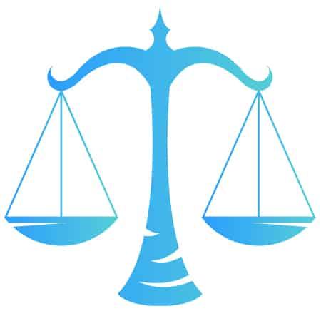 October Zodiac Symbol - Libra Scales