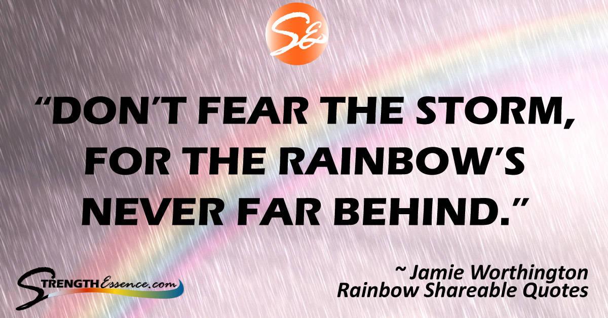 inspirational rainbow quote #rainbowquotes #rainbow #inspirationalquotes #inspirationalquotesmotivation #motivationalquotes