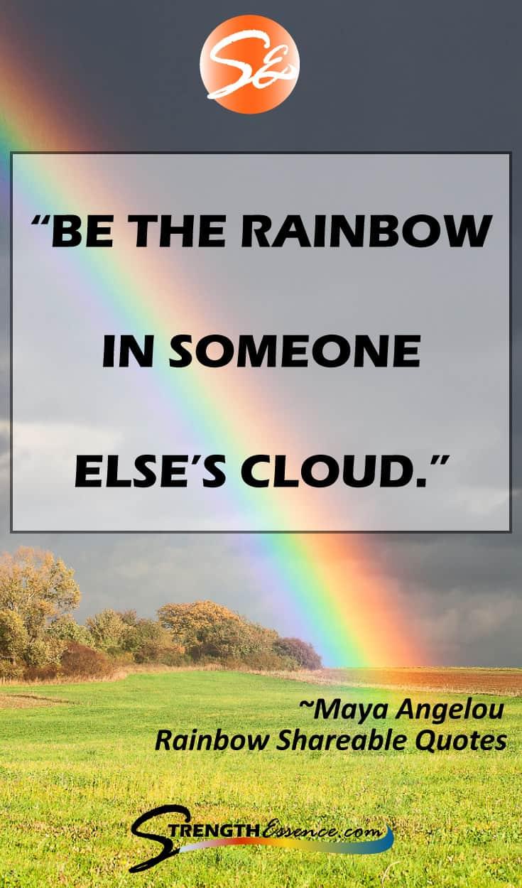 My favorite INSPIRATIONAL & MOTIVATIONAL RAINBOW QUOTES! #rainbow #rainbowquotes #inspirationalquotes #motivationalquotes