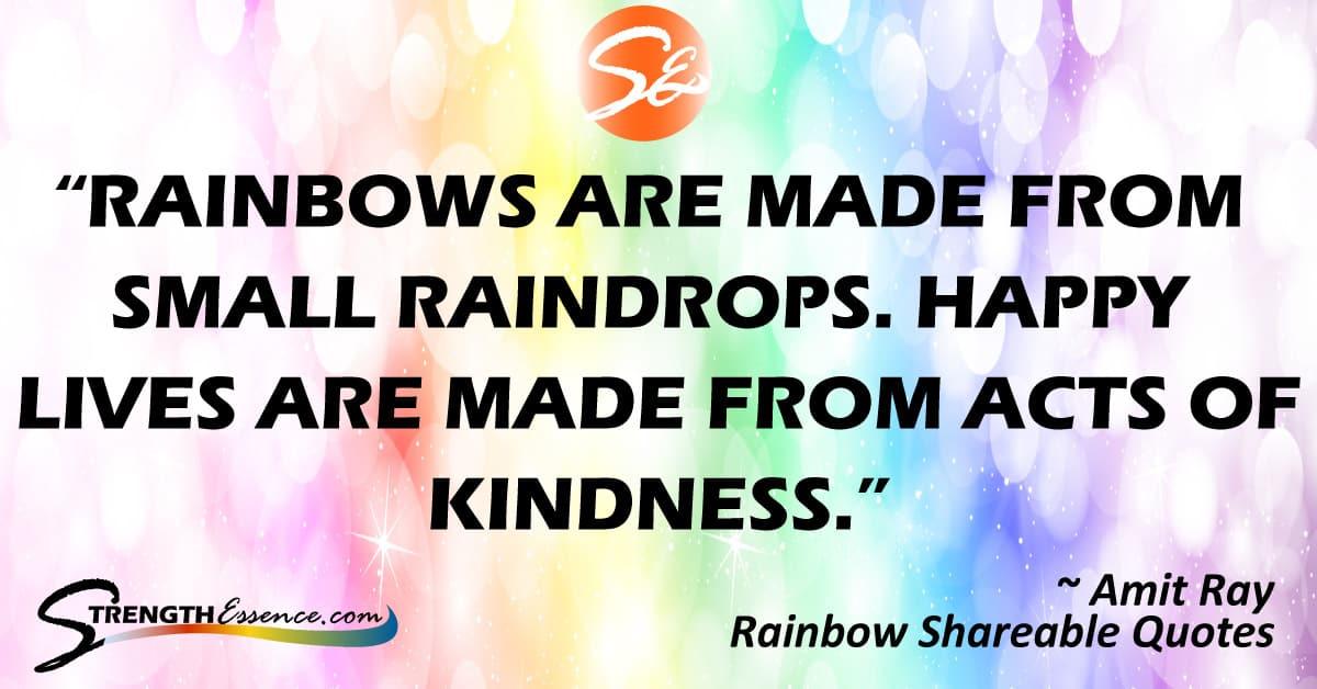 inspirational rainbow quotes