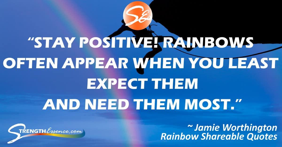 Rainbow Quotes #rainbowquotes #rainbow #inspirationalquotes #inspirationalquotesmotivation #motivationalquotes