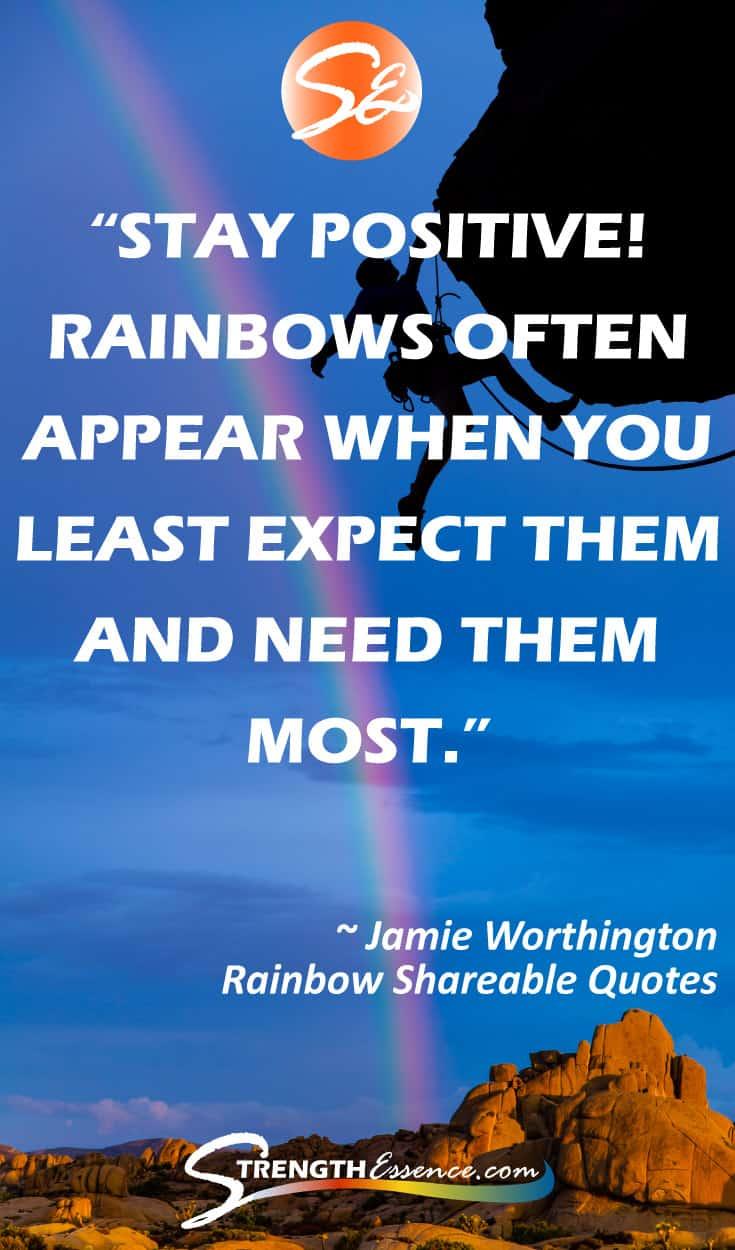 Motivational Rainbow Quotes #rainbowquotes #rainbow #inspirationalquotes #inspirationalquotesmotivation #motivationalquotes