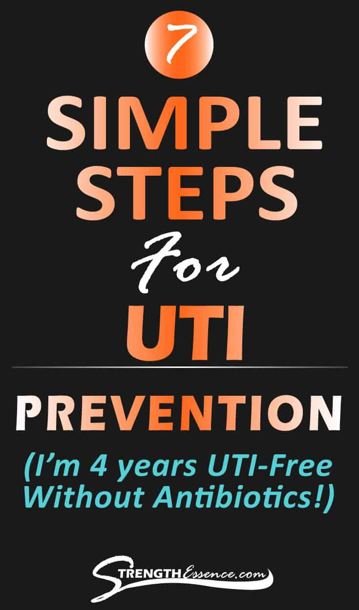 7 simple steps for UTI Prevention