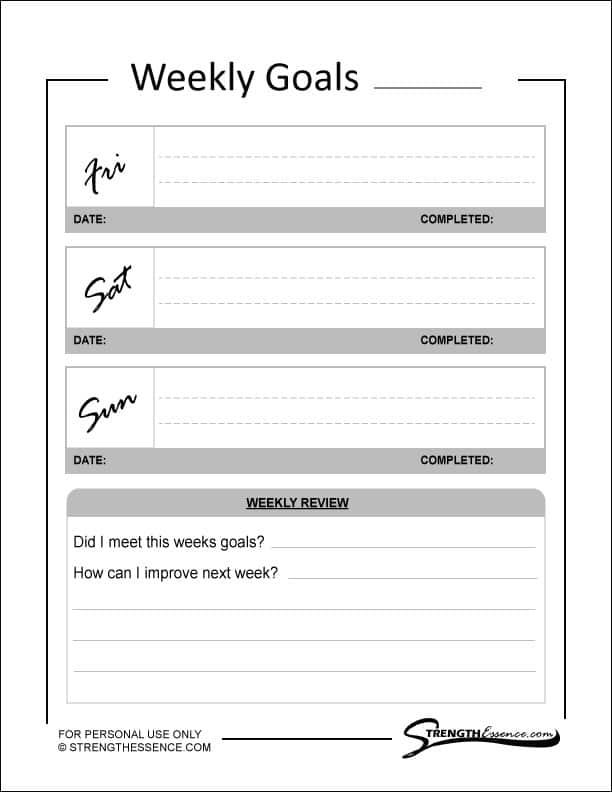 goal tracker free pdf download