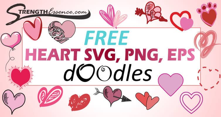 free heart SVG, PNG, EPS images files
