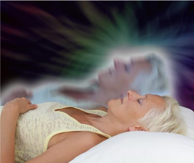 Astral projection experience
