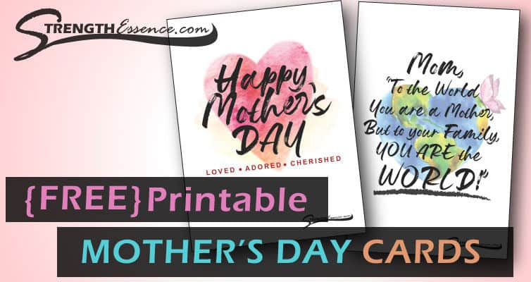 FREE Printable Mothers Day Card Download
