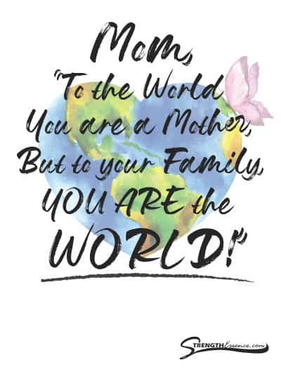 Free Printable Mothers Day Card Quote