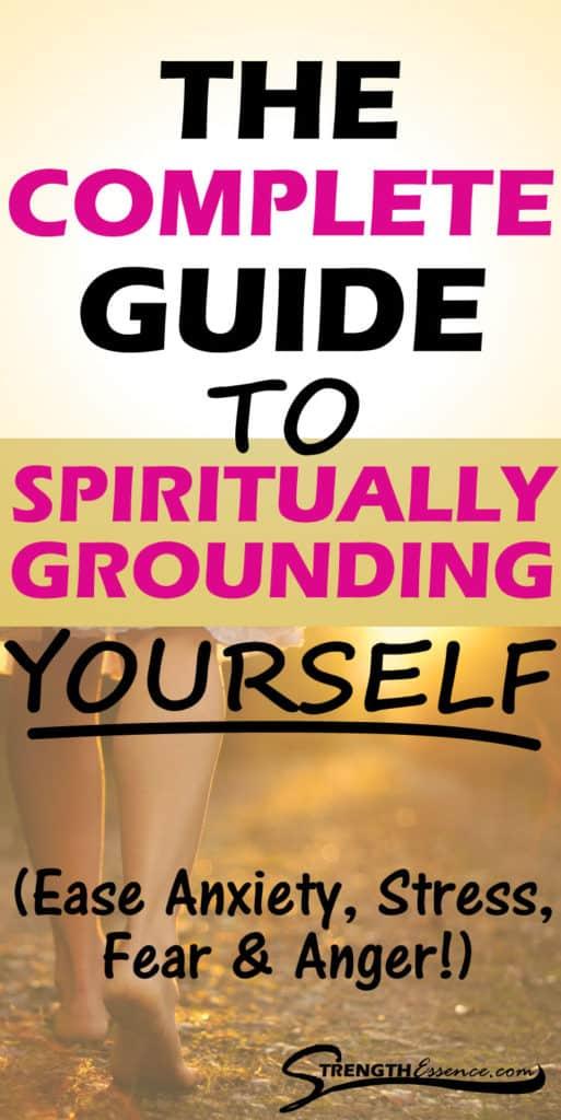 grounding yourself spiritually