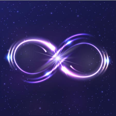 infinity symbol technique for sleep manifesting
