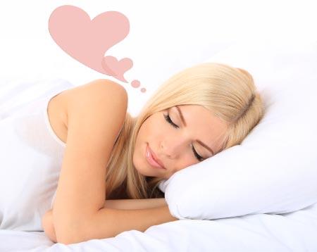manifest love while you sleep