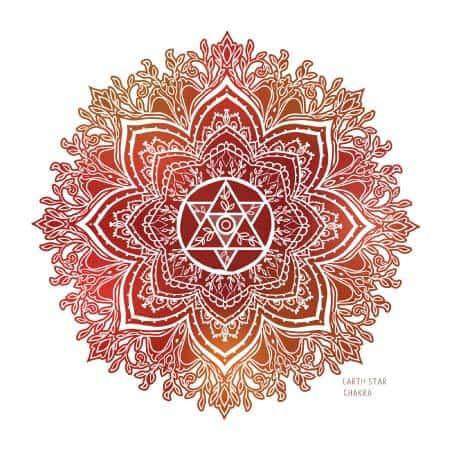 earth star chakra symbol