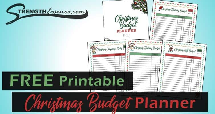 christmas budget planner pdf