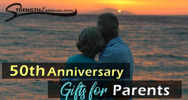 50th anniversary gift ideas for parents