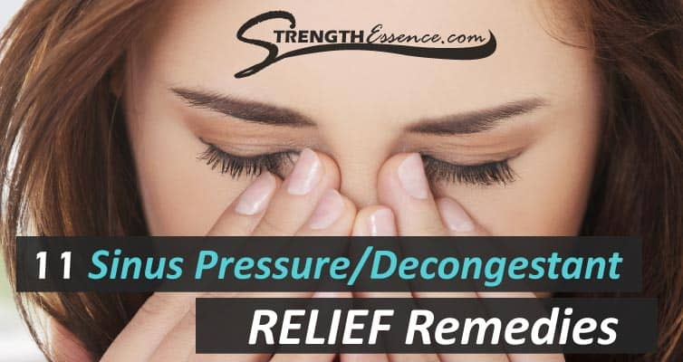 nasal decongestant natural remedies
