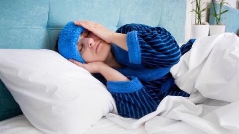 warm compress for sinus pressure relief