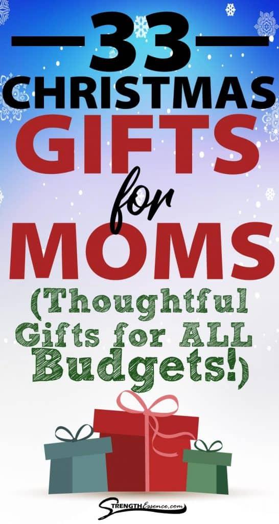 good christmas gifts for mom 2020