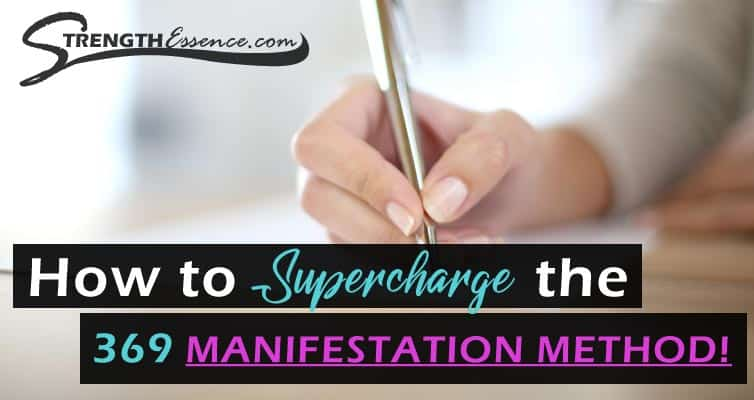 3 6 9 manifestation method