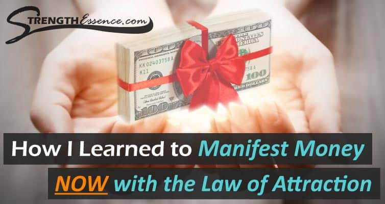 manifest money right now