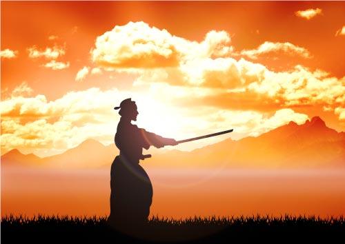 samurai zen meditation