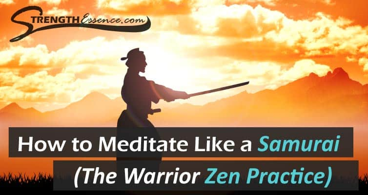 traditional samurai meditation technique