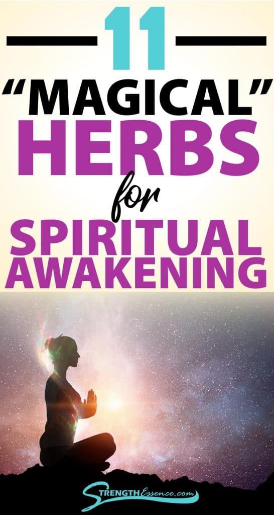 herbs for spiritual awakening