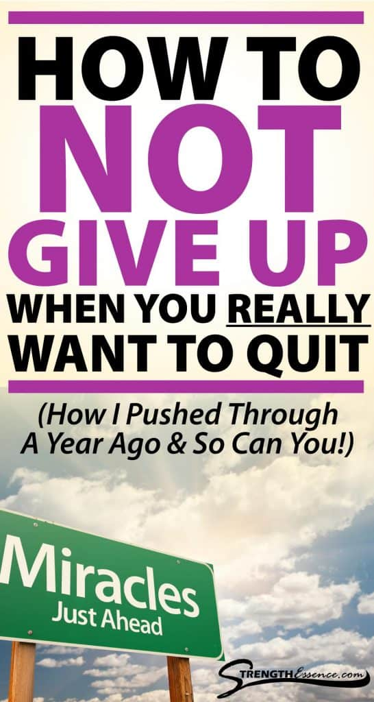 how to not give up on your dreams
