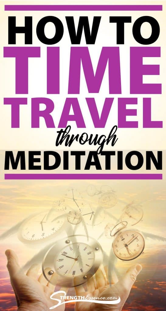 time travel through meditation