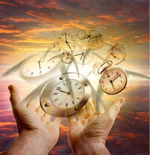time travel meditation