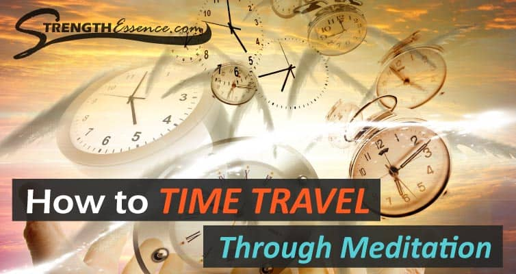 time travel through meditation