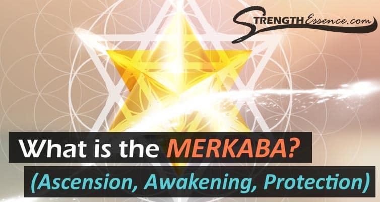 MERKABA Sacred Geometry (Star Tetrahedron)
