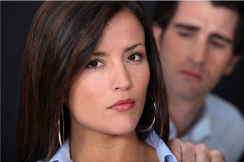 empath woman who knows she's being manipulated