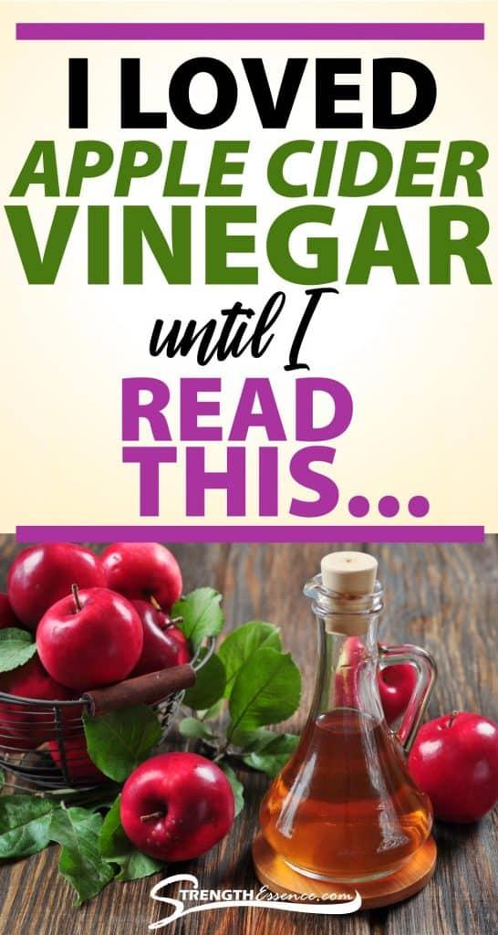 is apple cider vinegar bad for you
