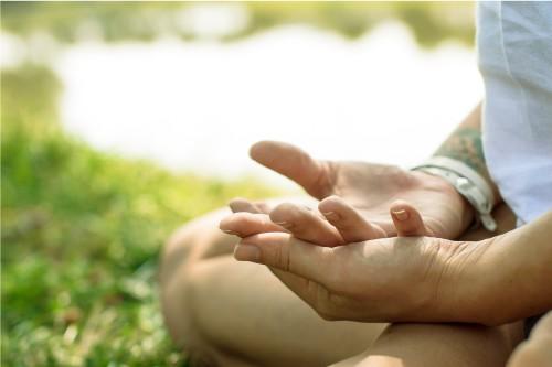 kundalini yoga hand pose
