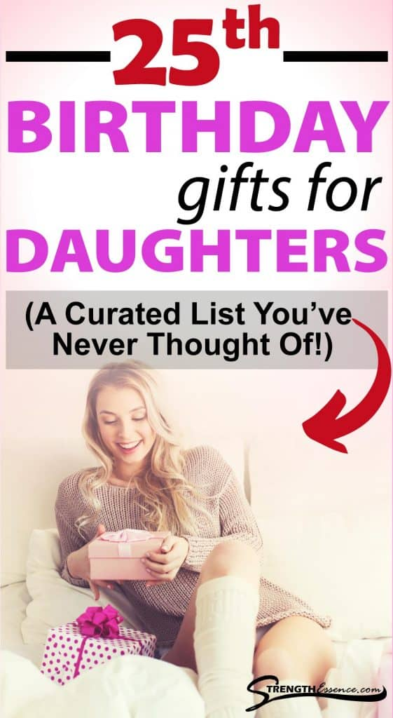 gift ideas for 25th birthday for daughter