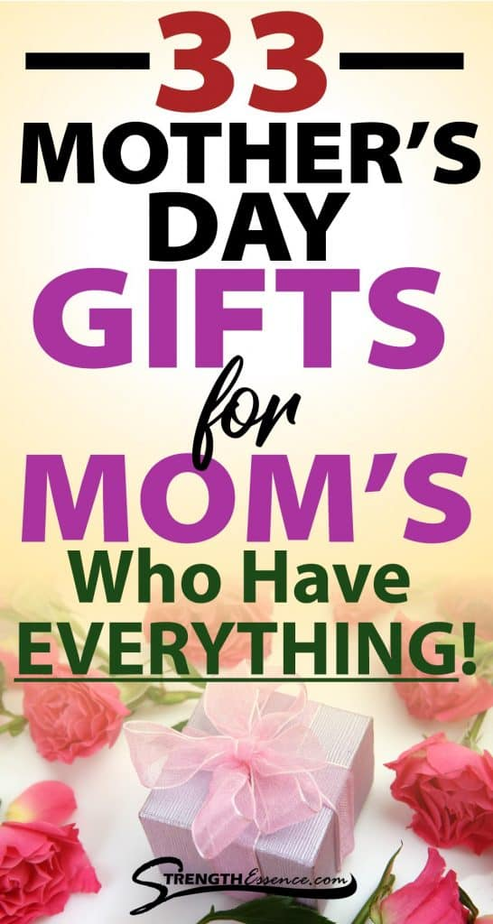 mothers day gifts for the mom who has everything
