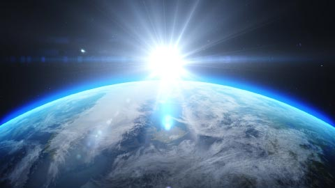ascension of earth