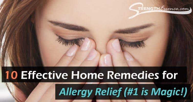 home remedies for allergy relief