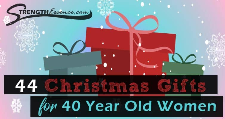 christmas gift ideas for 40 year old woman