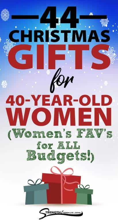 christmas gifts for 40 year old woman