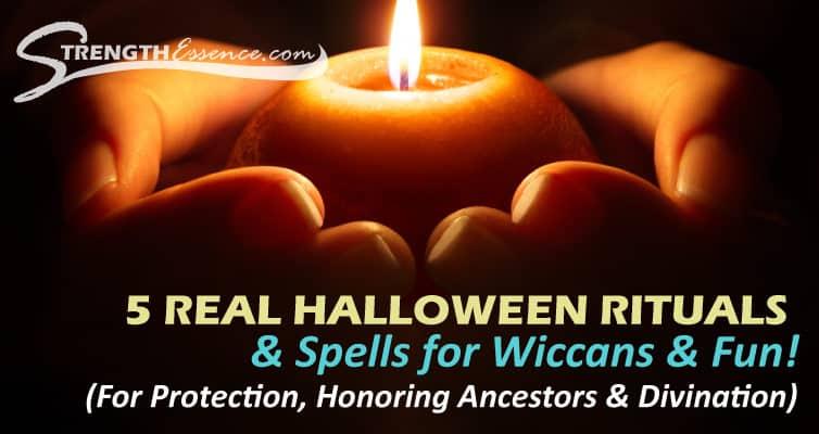 halloween rituals spells
