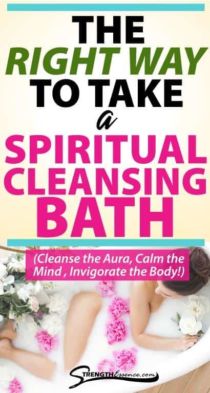 spiritual cleansing bath with epsom salt