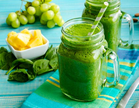green detox smoothie recipes for weight loss